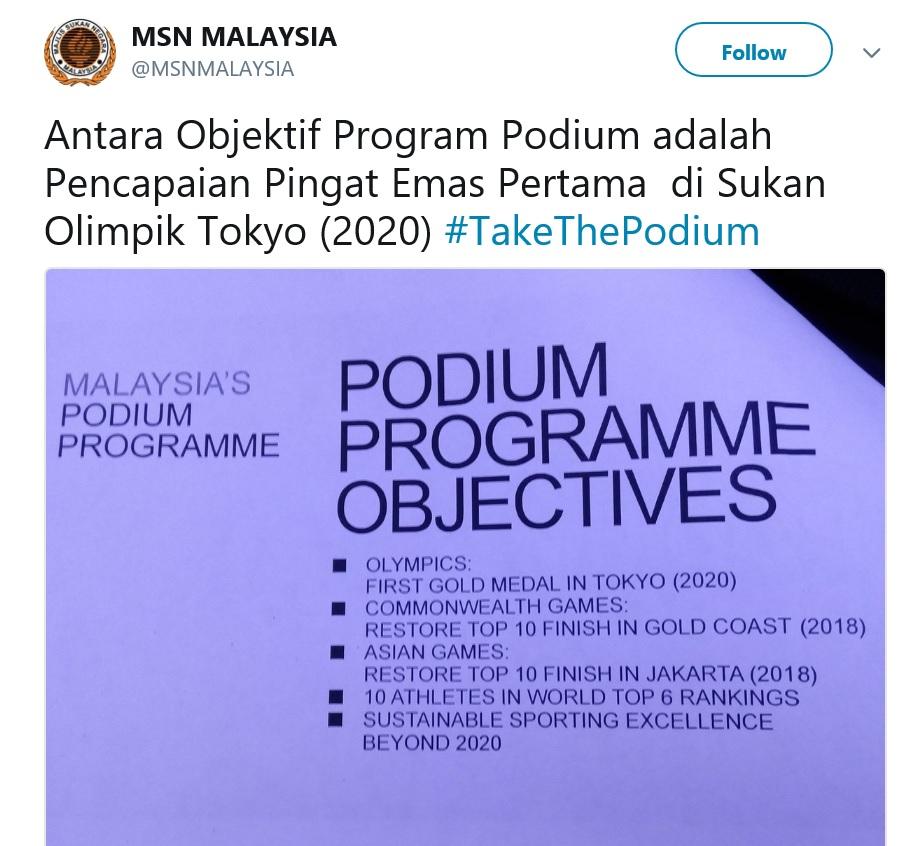 Podium Programme