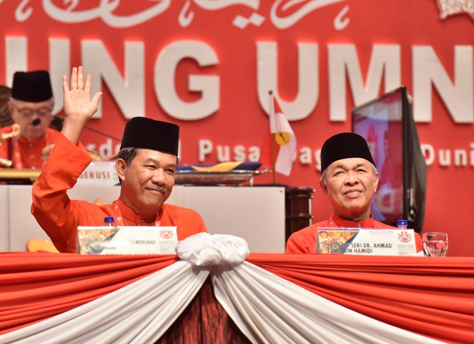 Mohamad Hasan dan Zahid Hamidi