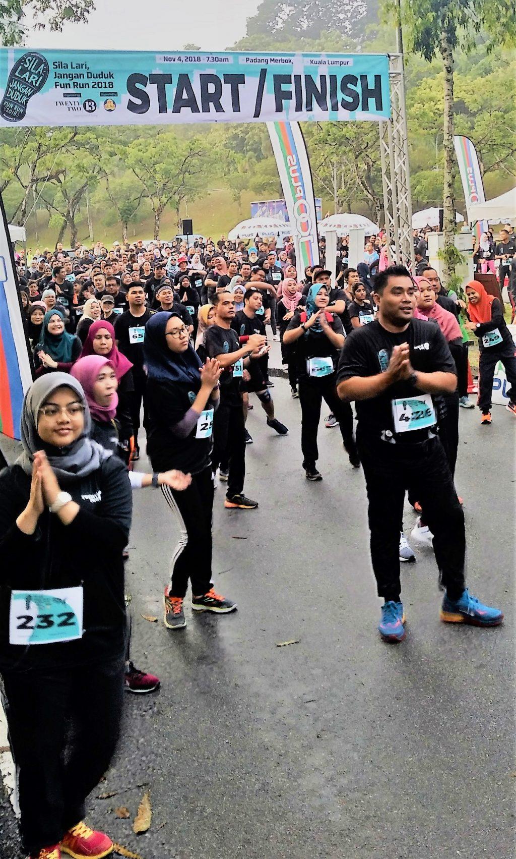 Sila Lari Jangan Duduk Fun Run 2018