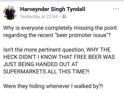 Harveynder Singh Tyndall: