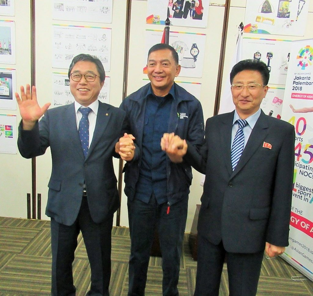 North, South Korea unite